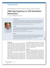 1000-Tage-Ergebnisse an 795 behandelten Stammvenen