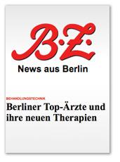 Berliner Top-Ärzte und ihre neuen Therapien
