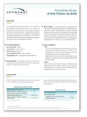 "Venaseal - Feasibility Study: ""-Year Follow-Up Data"