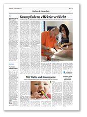 Bericht über Venaseal in der SVZ Oktober 2014