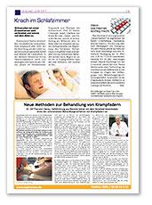 Meine Gesundheit Ausgabe Februar 2016, Beilage in der NNN