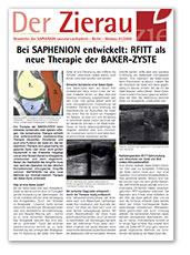 RFITT als neue Therapie der Baker-Zyste