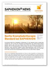 Sanfte Krampfadertherapie - Standard bei SAPHENION