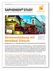 Venenverklebung mit VenaSeal Closure - Ergebnisse bei 1288 behandelten Stammvenen