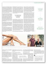Berliner Zeitung Sonderbeilage, Natürlich schöne Beine, April 2017