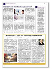 Meine Gesundheit Ausgabe Mai 2017, Beilage in der NNN