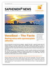VenaSeal - The Facts Sealing veins with cyanoacrylate adhesive