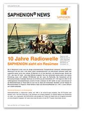 10 Jahre Radiowelle - Saphenion zieht ein Resumeé
